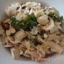 Салат из свежего трутовика сернистого