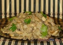 Солянка с грибами